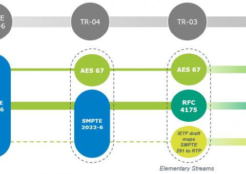 Standards For Media Transport Over IP