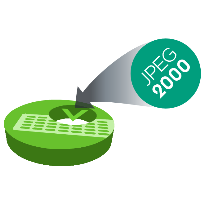 Nevion Virtuoso JPEG 2000 HD Media Function