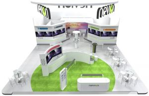 Nevion IBC 2017 Areal view Small