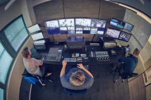 Streamteam control room