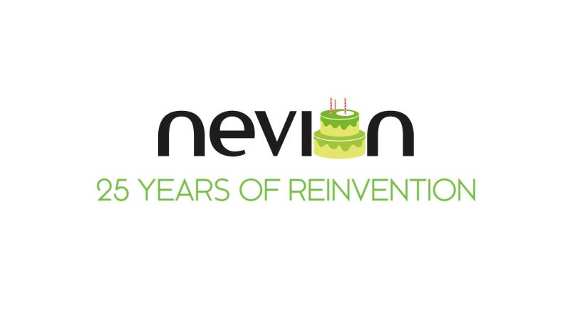 25 Years Nevion Logo